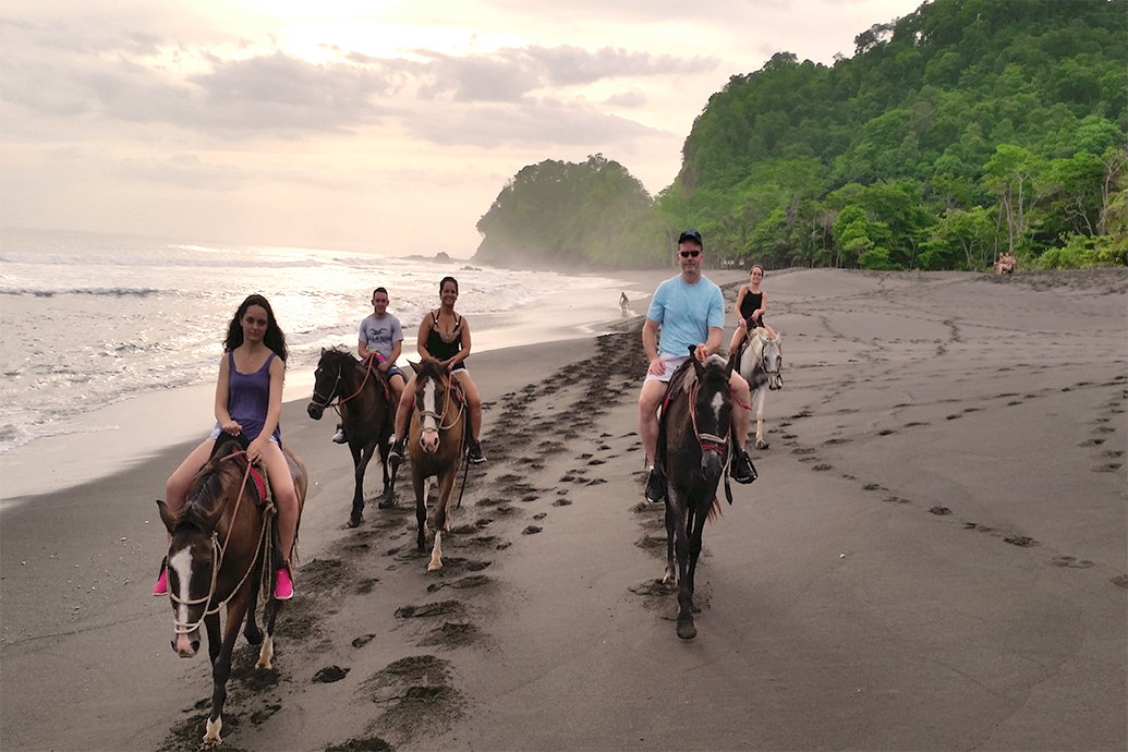 Horseback riding in jaco costa rica